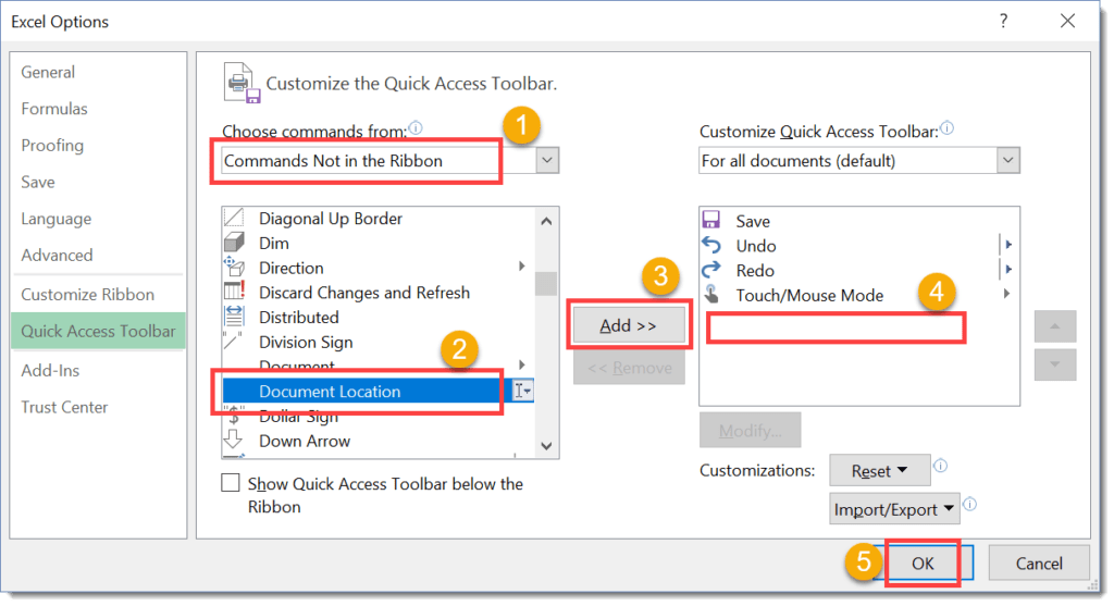Step-002-How-To-Show-The-Current-Workbook-Location-And-Name-In-The-Quick-Access-Toolbar-1024x557 How To Show The Workbook Location In The Quick Access Toolbar