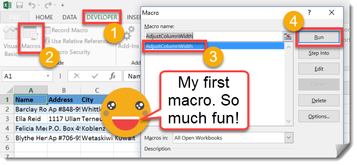Step-005-How-To-Record-And-Run-Your-First-Macro How To Record And Run Your First Macro