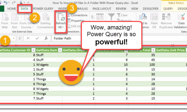How To Import All Files In A Folder With Power Query
