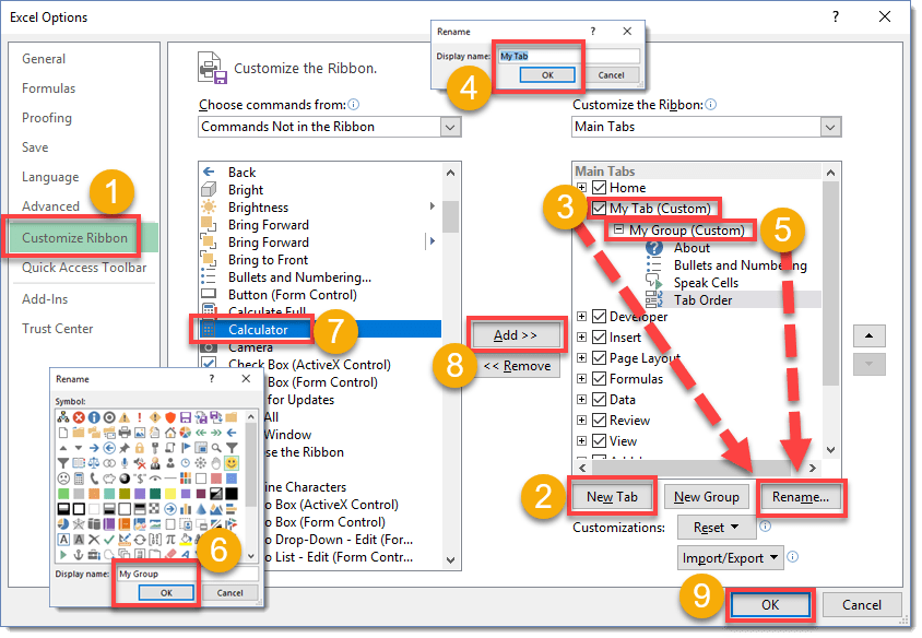 Step-002-How-To-Add-Your-Own-Custom-Tabs-And-Groups-To-The-Ribbon How To Add Your Own Custom Tabs And Groups To The Ribbon