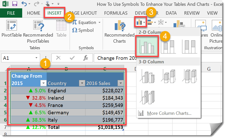Step-003-How-To-Use-Symbols-To-Enhance-Your-Tables-And-Charts How To Use Symbols To Enhance Your Tables And Charts
