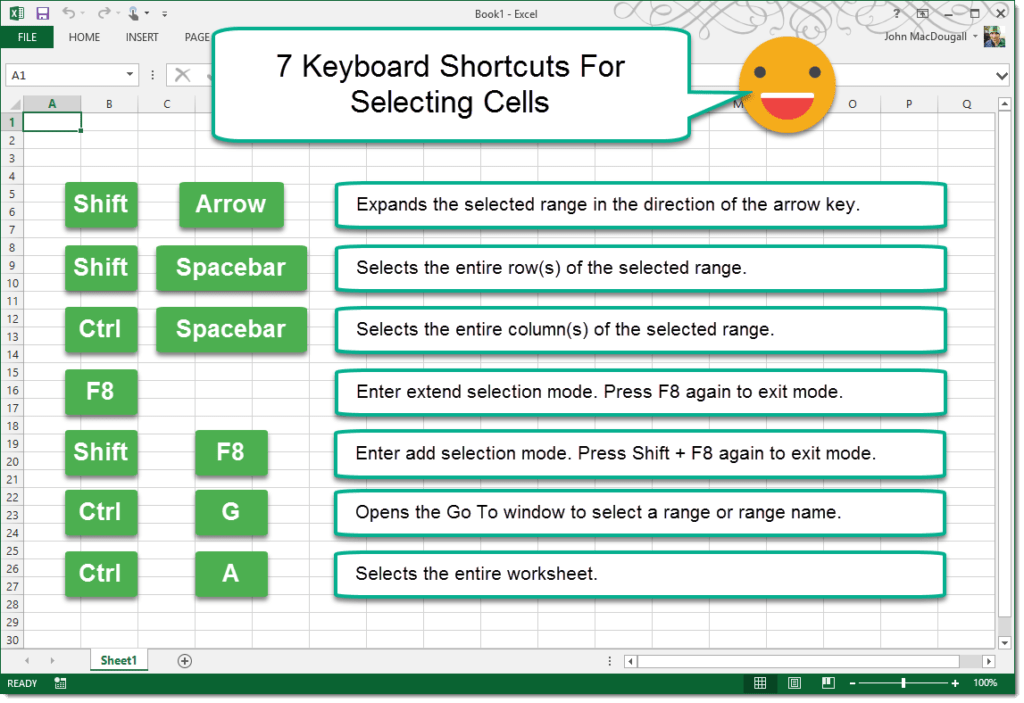 7-Keyboard-Shortcuts-For-Quick-Cell-Selection-1024x703 7 Keyboard Shortcuts For Quick Cell Selection