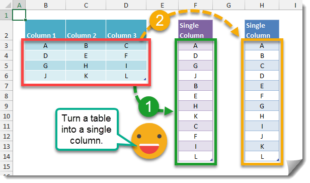 Step-001-How-To-Turn-A-Table-Into-A-Column-With-A-Formula How To Turn A Table Into A Column Using Formulas