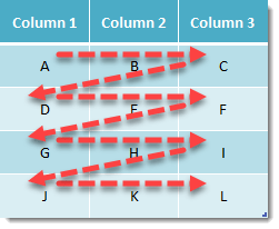 Step-003-How-To-Turn-A-Table-Into-A-Column-With-A-Formula How To Turn A Table Into A Column Using Formulas