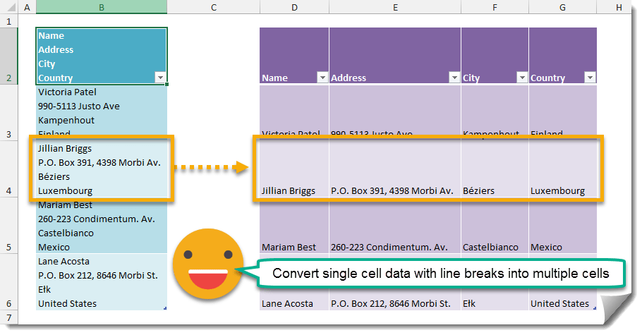 Step-005-How-To-Separate-Data-In-A-Cell-Based-On-Line-Breaks How To Separate Data In A Cell Based On Line Breaks