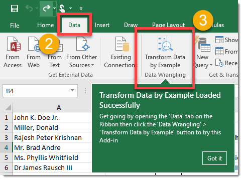 Step-005-How-To-Transform-Data-By-Example-Data-Wrangling How To Transform Data by Example