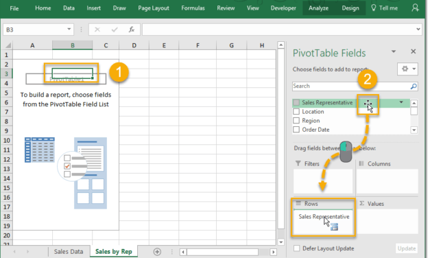 How To Build Your Pivot Tables