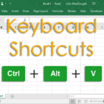 The Complete List Of Excel Keyboard Shortcuts